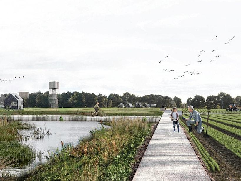 Groots plan voor Park Laagraven, een nieuw landschapspark voor Metropoolregio Utrecht