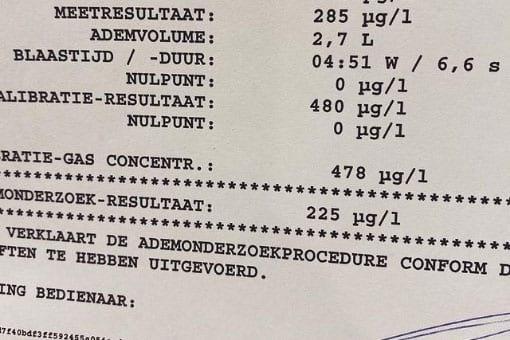 Beschonken automobilist zonder rijbewijs aangehouden in Utrecht