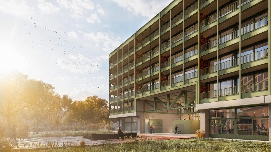 Bouw gaat écht bijna beginnen: honderden woningen in Cartesiusdriehoek