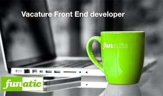 Vacature: Front-end Developer bij Funatic