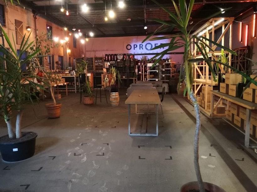 Biercafé Oproer in CAB-gebouw onherstelbaar beschadigd door brand