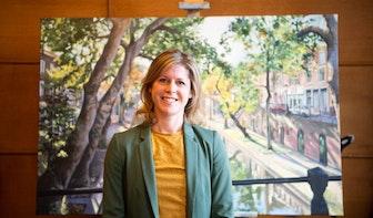 Veelzijdige schilder Susan Mertens; van Oudegracht tot muurschilderingen en bruiloften