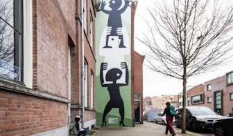 Max Kisman ontwerpt nieuwe muurschildering in Utrecht: 'Ode aan sterke vrouwen'