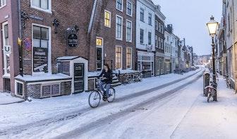 Winters weer in Utrecht; Tramverkeer ontregeld, gesloten teststraten en geen voetbal