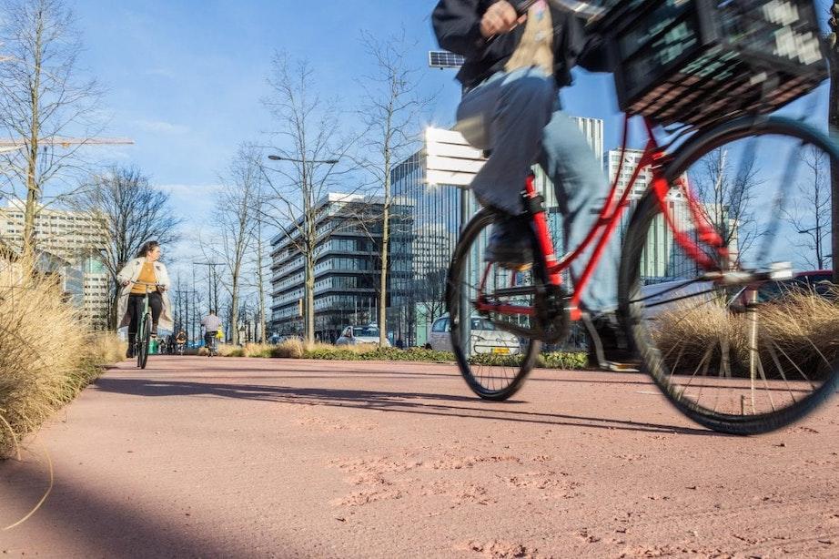 Herstel kapotgevroren fietspad Croeselaan duurt nog even, maar kost gemeente geen geld