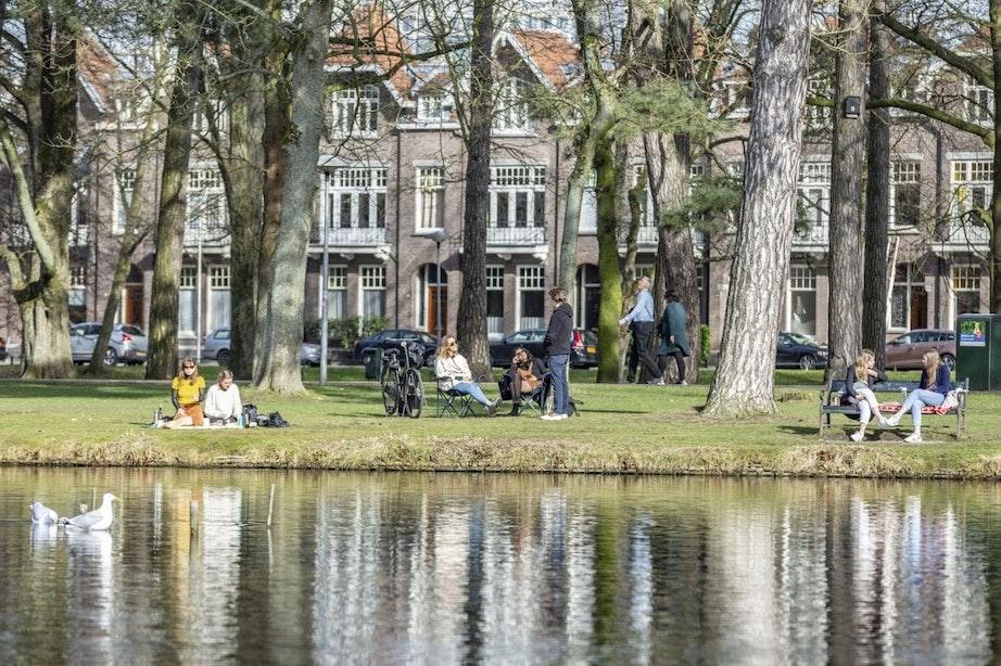 Zonnig weekend in Utrecht; eerste officiële 'zachte dag' van het jaar