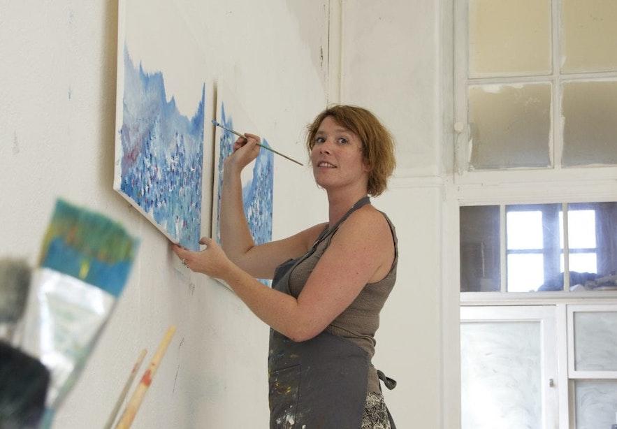 Utrechtse kunstenaars: Meike van Riel, creatieve doorzetter