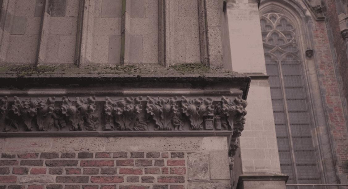 Videoserie over Domkerk #1: Verstopte beeldhouwkunst