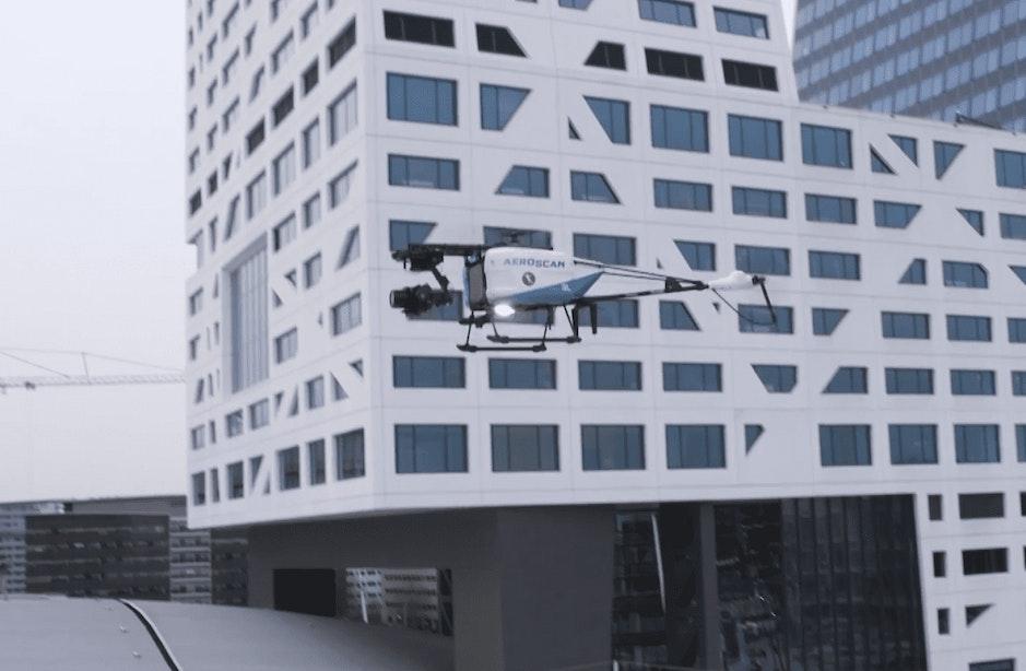 Hypermoderne drone maakt komende dagen 3D-afdruk van Utrecht Centraal