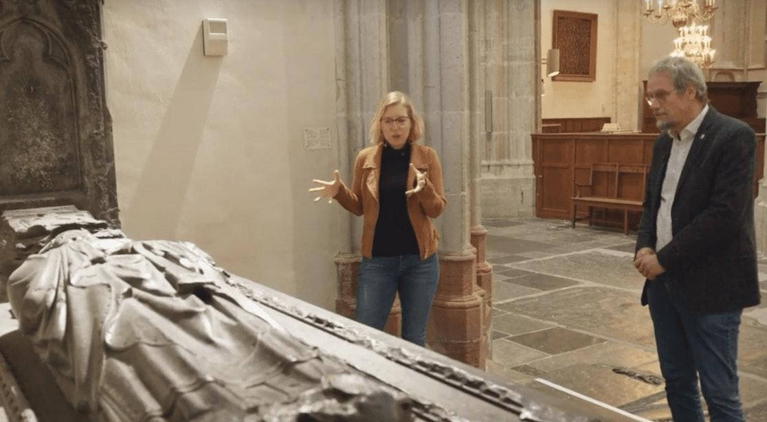 Videoserie over Domkerk #2: het grafmonument van Avesnes