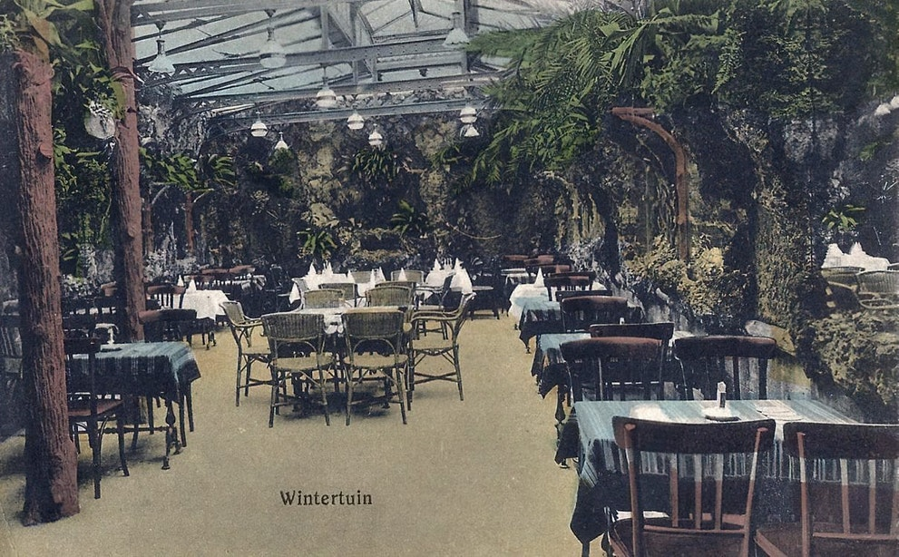 Verdwenen horeca: Café-restaurant Witjens aan het Vredenburg