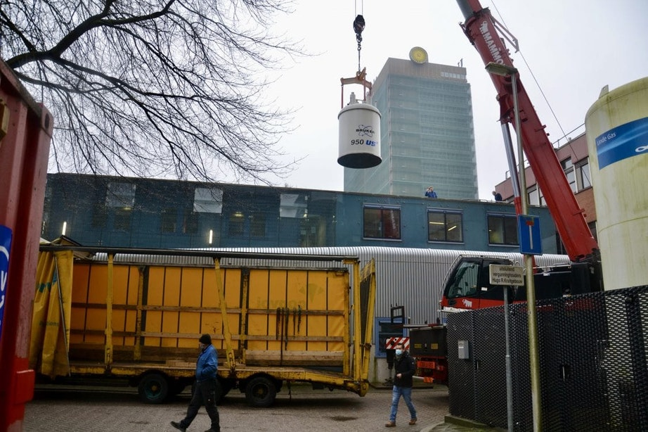 Universiteit Utrecht verwelkomt krachtige 'MRI voor moleculen'