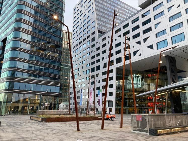 Werkzaamheden aan Forum bij station Utrecht Centraal begonnen
