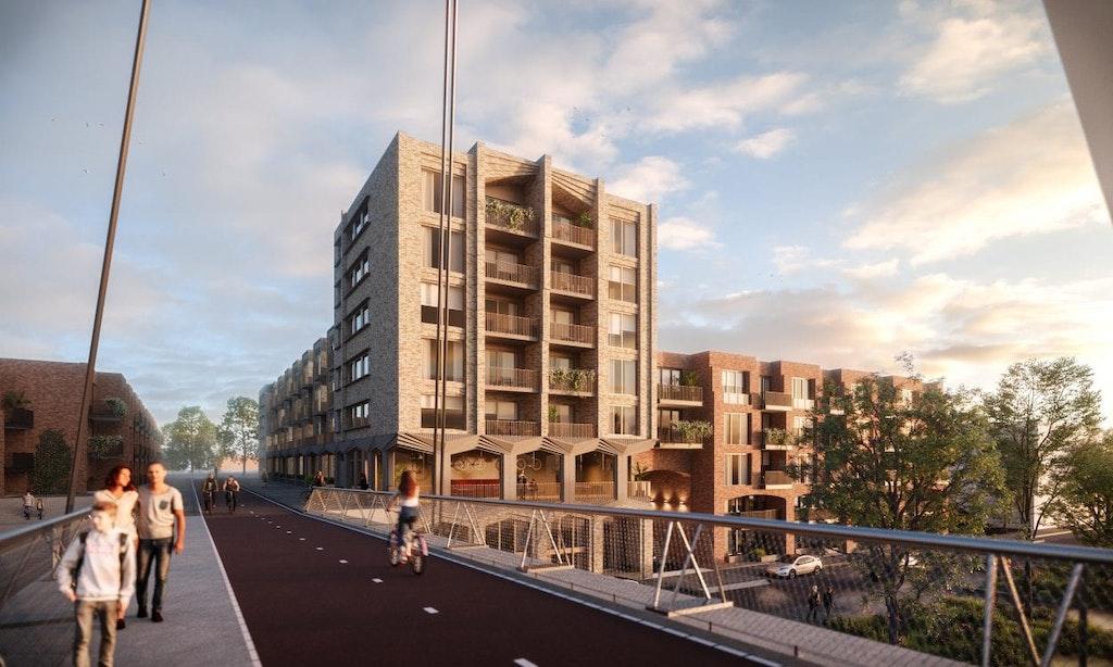 Weer nieuwe bouwplannen Leeuwesteyn bekend: 76 huur- en koopwoningen erbij