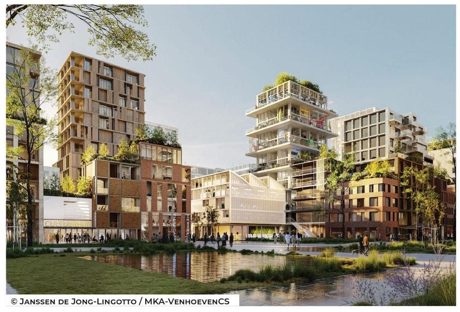 Plan voor Utrechtse wijk Merwede is rond; 12.000 bewoners, 2 nieuwe bruggen, een markthal met horeca en veel meer