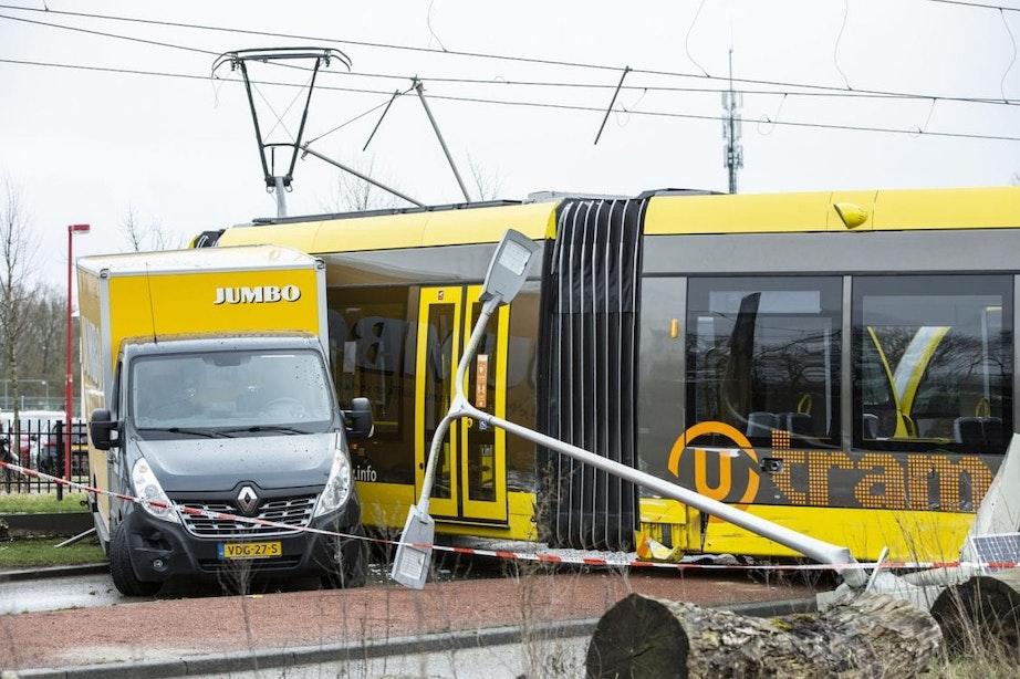 Opnieuw herstelwerkzaamheden na trambotsing Uithoflijn