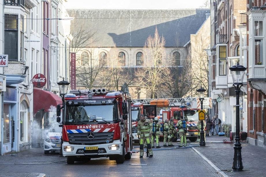 Brandweer rukt uit voor pannetje op het vuur bij horecazaak KARAF in centrum van Utrecht