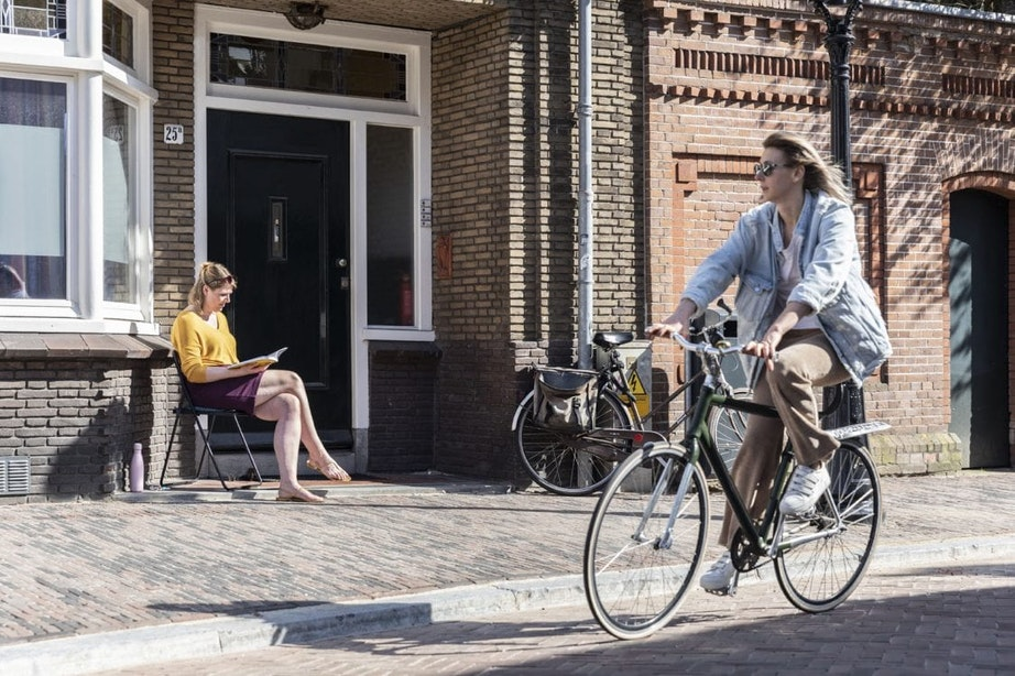 Foto's: Utrechters genieten van zonnig en warm lenteweer