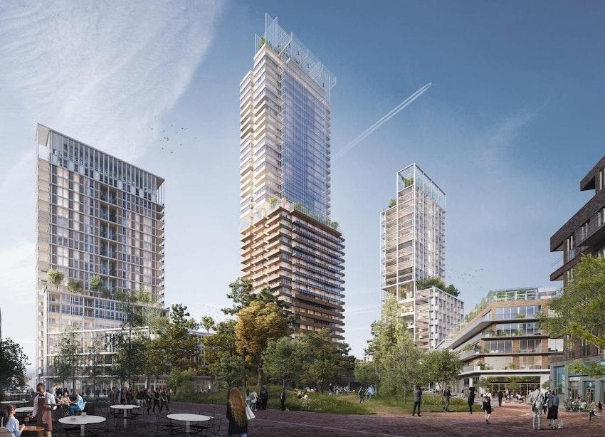 Komst 140 meter hoge woontoren met rooftopbar in Utrecht stap dichterbij