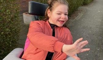 Help Destiny aan een rolstoelbus!