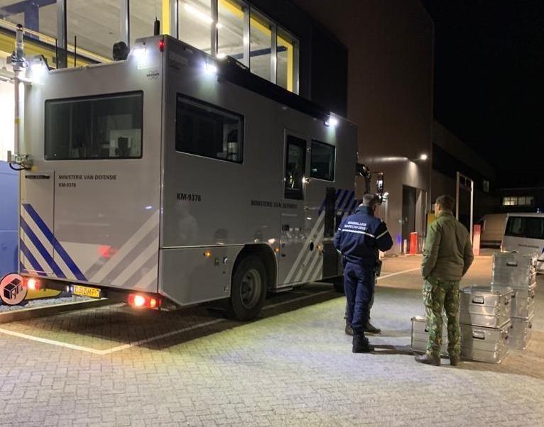 Geen gevaarlijke stoffen in verdacht pakket bij Militaire Post Organisatie in Utrecht