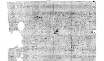 Wetenschappers ontcijferen ongeopende 17e-eeuwse brief met nieuwe technologie