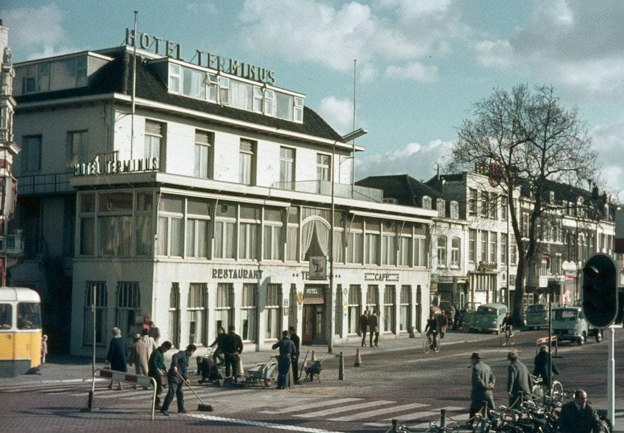 Verdwenen horeca: Hotel Terminus aan het Stationsplein