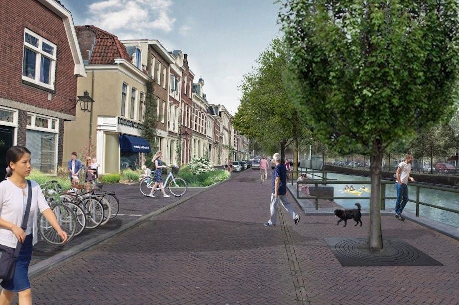 Dit zijn de plannen voor de herinrichting van de Ooster- en Westerkade