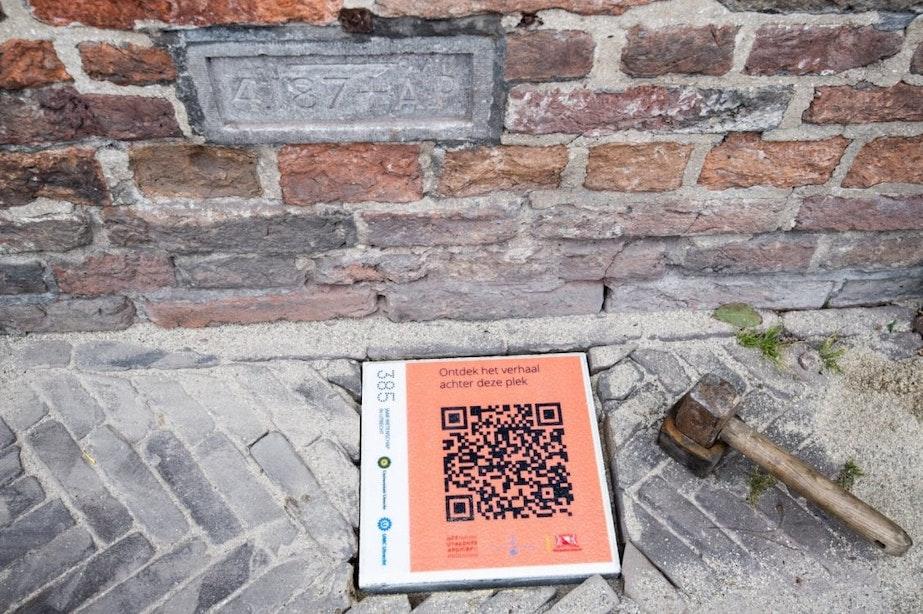 QR-tegels in Utrecht vertellen over de geschiedenis van bijzondere plekken