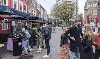 Utrechters in de rij voor eerste tapbiertje in maanden; Fieldlabexperiment van start