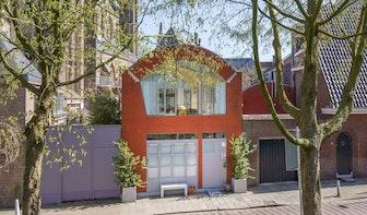 Bijzonder huis uit 2004 te koop in centrum van Utrecht; vraagprijs is ruim 1,5 miljoen euro