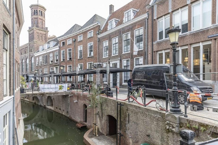 Vaarroute langs Nieuwegracht blijft afgesloten voor gemotoriseerde bootjes