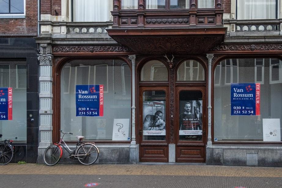 De leegstand in de binnenstad van Utrecht wordt een probleem, maar er is een plan