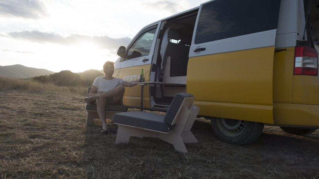 Utrechts gemaakt: Ventje bouwt prijswinnend interieur voor Volkswagen camperbusjes