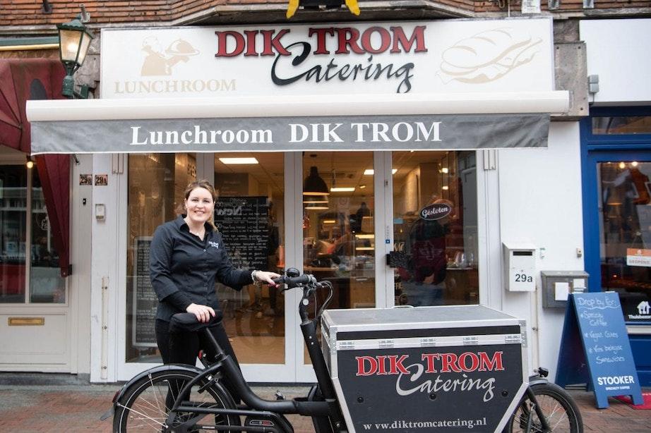 Familiebedrijf Dik Trom op de Nachtegaalstraat in Utrecht sluit na dertig jaar de deuren