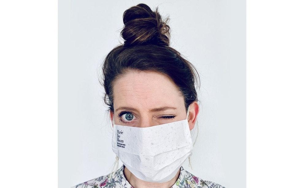 De week in quotes: 'In het mondkapje zitten zaadjes van een weidebloemenmix verwerkt'