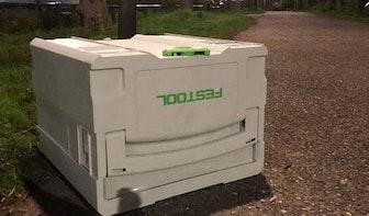 Utrechter (21) met duur gereedschap aangehouden in Veldhuizen; 'Vermoedelijk uit een busje geroofd'