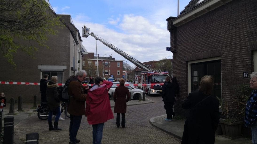 Brandweer in Utrecht rukt uit voor brand in slaapkamer
