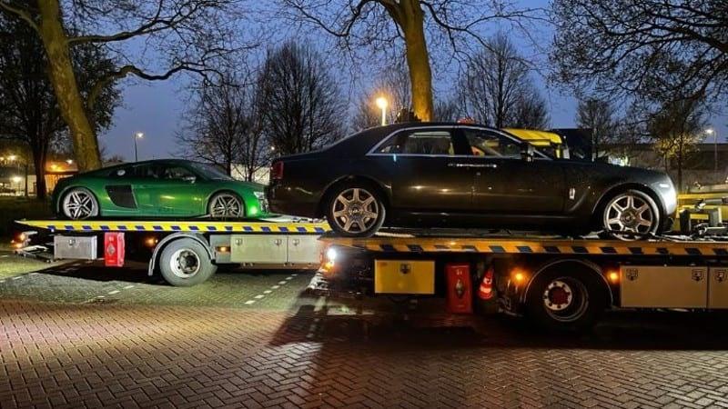 Politie Utrecht neemt Rolls Royce Ghost van 350.000 euro in beslag