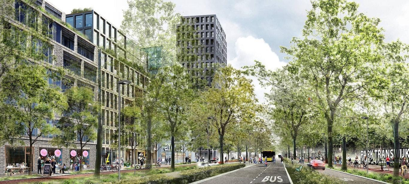 Europalaan krijgt nieuwe inrichting, project moet klaar zijn voor eerste woningen Merwede