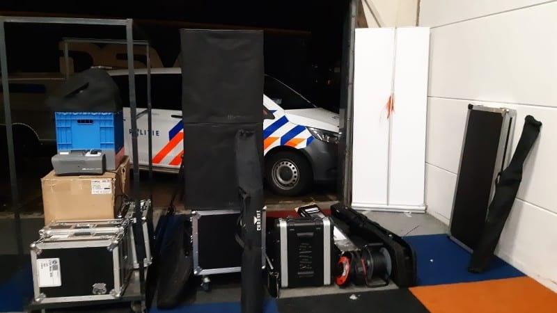 Politie vernietigt gedeelte van boetes voor illegaal feest in Utrecht