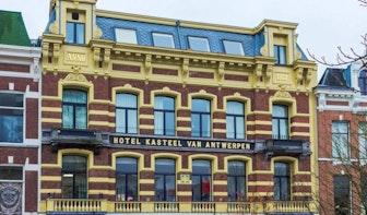 Verdwenen horeca: Hotel Kasteel van Antwerpen aan de Oudegracht
