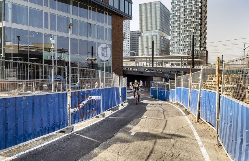 Van Sijpesteijntunnel vanaf morgen ruim vier weken afgesloten voor fietsers