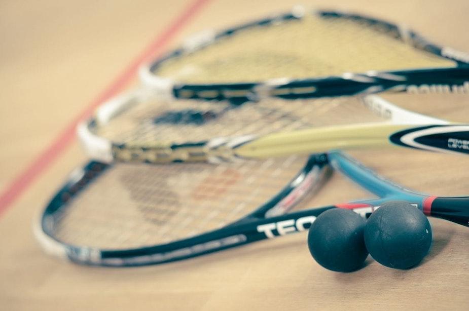 Squash Utrecht deed zaterdag mee aan corona-experiment; 'iedereen komt bezweet en voldaan de baan af'