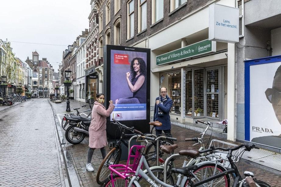 Zes bekende Utrechters stropen hun mouw op en willen daarmee het belang van het coronavaccin benadrukken