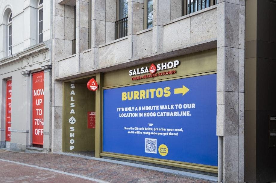 Salsa Shop aan de Vinkenburgstraat in Utrecht failliet