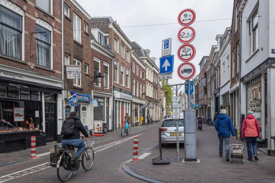 Utrecht wil meer maatregelen tegen te zwaar verkeer in de binnenstad