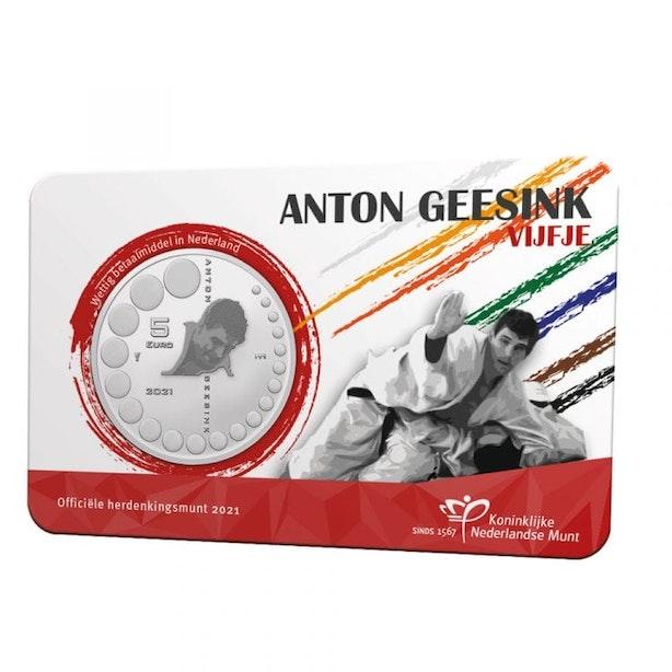 Utrechtse judoka Anton Geesink krijgt herdenkingsmunt