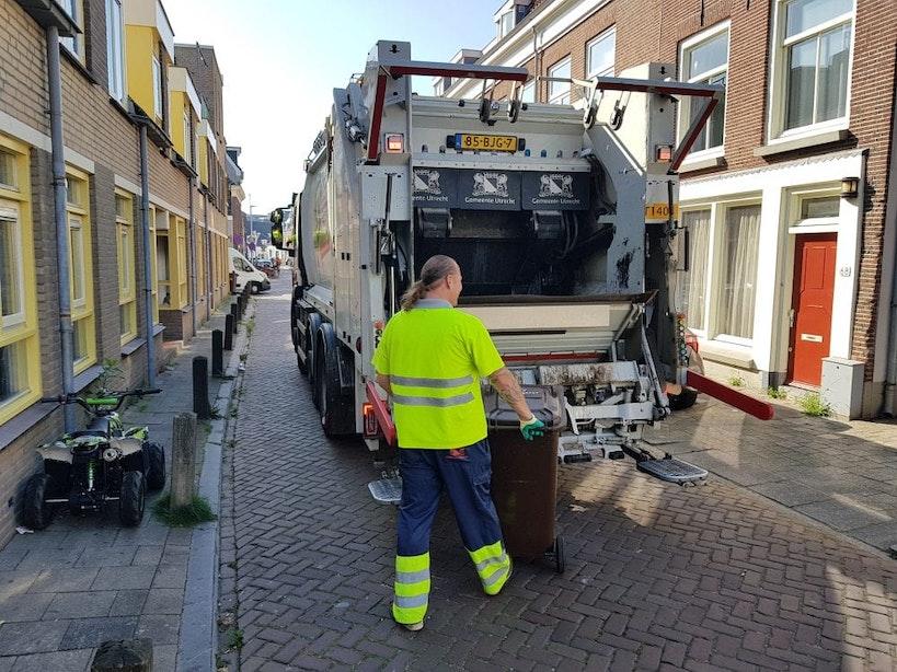 Afvalinzameling Utrecht rond Pinksteren 2021