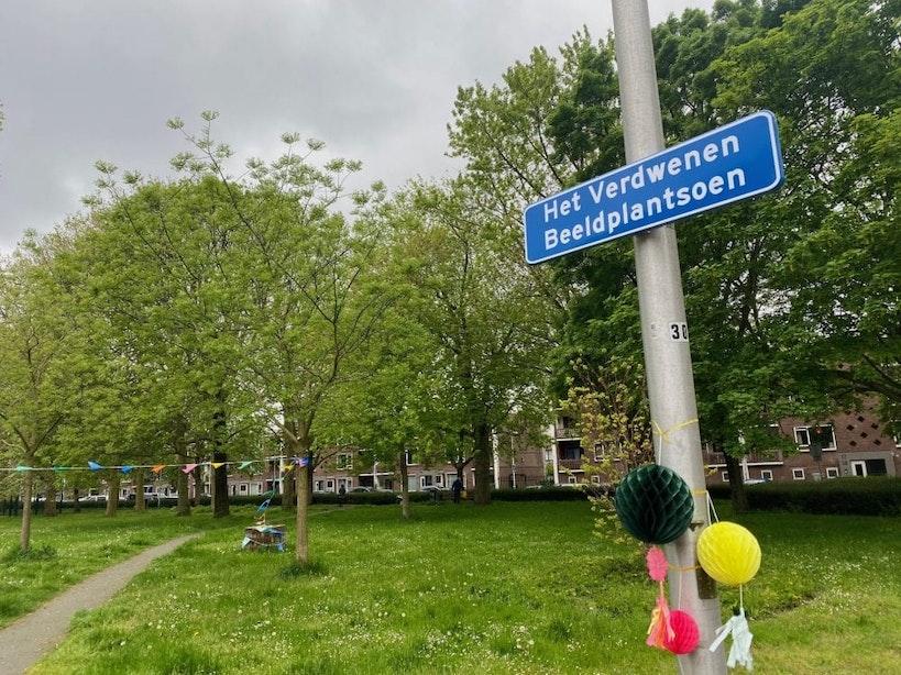 Utrechts parkje waar beelden verdwenen heet nu Het Verdwenen Beeldplantsoen